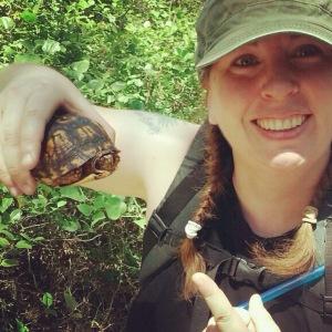 turtle friend outside batsto